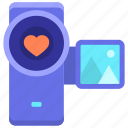 camera, handycam, video camera, videography icon