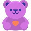 bear, stuff toy, teddy, teddy bear, toy icon