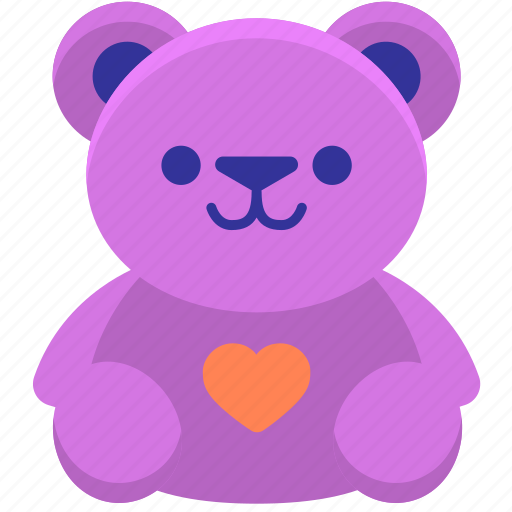 Bear, stuff toy, teddy, teddy bear, toy icon - Download on Iconfinder