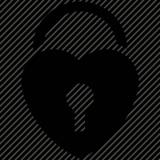 heart shape lock, heart shape padlock, heart shaped lock, lock your love, love lock icon