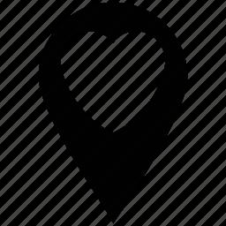 heart shape locator, heart shape pin, heart shaped locator, love pin, love sign, love symbol icon