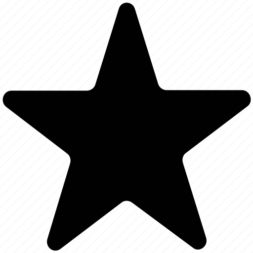 favorite, five pointed, five pointing star, like, star, star shape icon