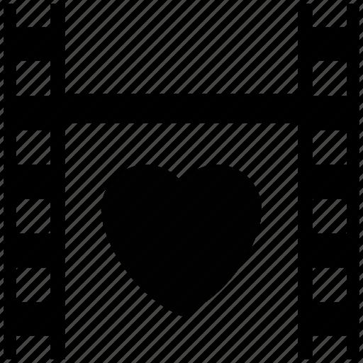 film negative, film strip, lover spics sign, photoshoot, strip with heart, valentine pics icon