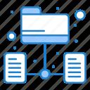 data, folder, network, server