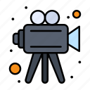 camera, making, movie, video