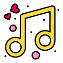 celebrate, music, party icon