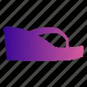 footwear, heels, sandals, shoe, shoes, wedge, wedges icon