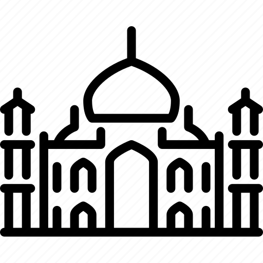 architecture, building, india, monument, religion, structure, taj mahal icon