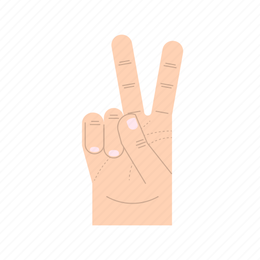 body language, fingers, forefinger, gesture, hand, hands, middle finger icon