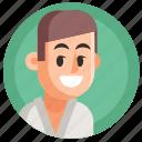 avatar, boy, hand-to-hand, judo, man, sport icon