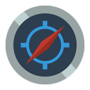 compass, directions icon