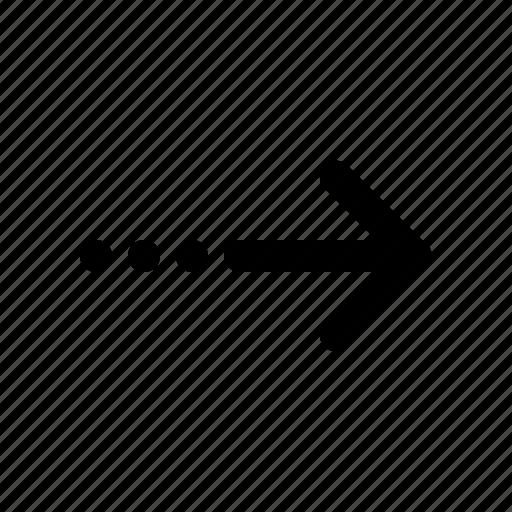 arrow, davance icon