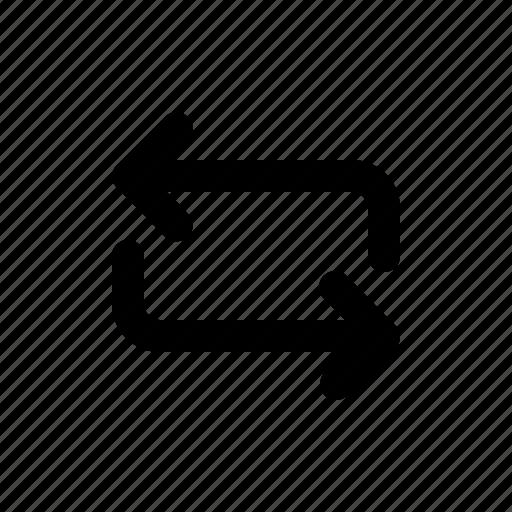 arrow, loop, repeat, repost icon