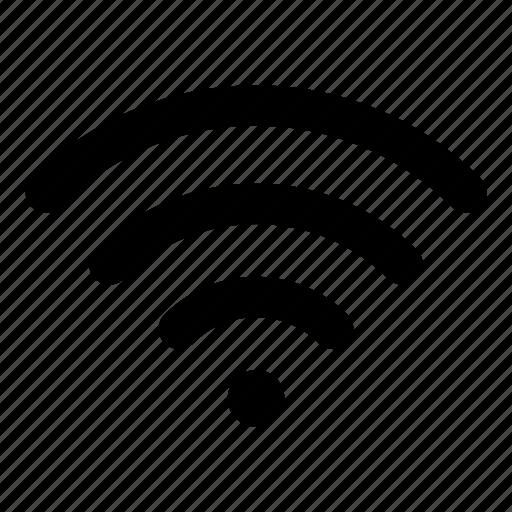 high, wifi icon