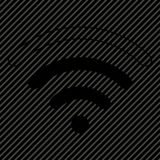 medium, wifi icon