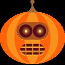 jack-o-lantern, halloween, bender, pumpkin, spooky, monster, robot