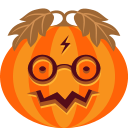 halloween, jack-o-lantern, potter, pumpkin icon