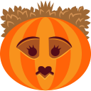 jack-o-lantern, queen, halloween, pumpkin, spooky, witch, monster