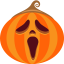 ghost, halloween, jack-o-lantern, monster, pumpkin, scream, spooky icon