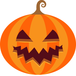 halloween, jack-o-lantern, monster, pumpkin, scary, spooky icon