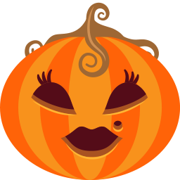 female, halloween, jack-o-lantern, lady, monster, pumpkin, spooky icon