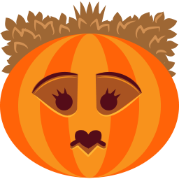 halloween, jack-o-lantern, monster, pumpkin, queen, spooky, witch icon
