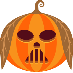 halloween, jack-o-lantern, monster, pumpkin, scary, spooky, vader icon