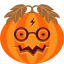 creepy, halloween, jack-o-lantern, monster, potter, pumpkin, spooky icon