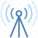 antenna, internet, signals, wifi, wifi antenna, wifi tower, wireless icon