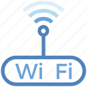 connection, internet, modem, router, signal, wifi icon