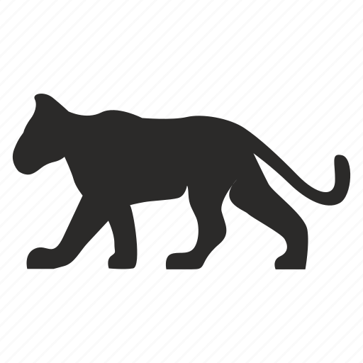 animal, cat, child, lion, puma, wild icon