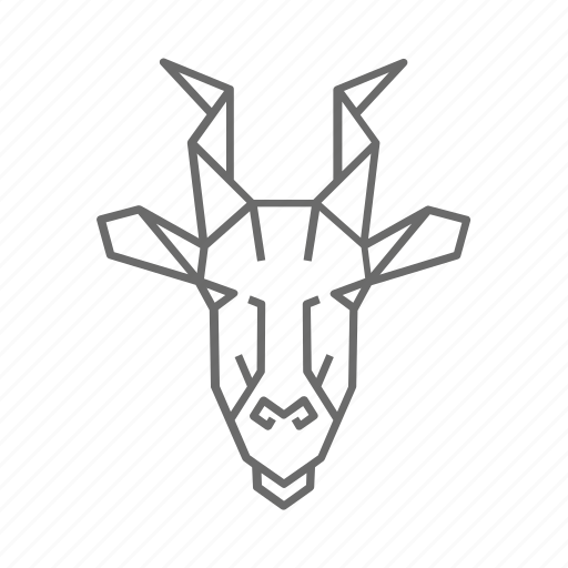 Abstract, animal, eland, nature, outline, wild, zoo icon - Download on Iconfinder