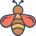 bee, fly, food, honey, insect icon