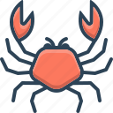 animals, crab, food, sea