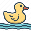 animal, baby, duck, pet, rubberduck