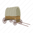 cart, transport, van, vehicle, wheels