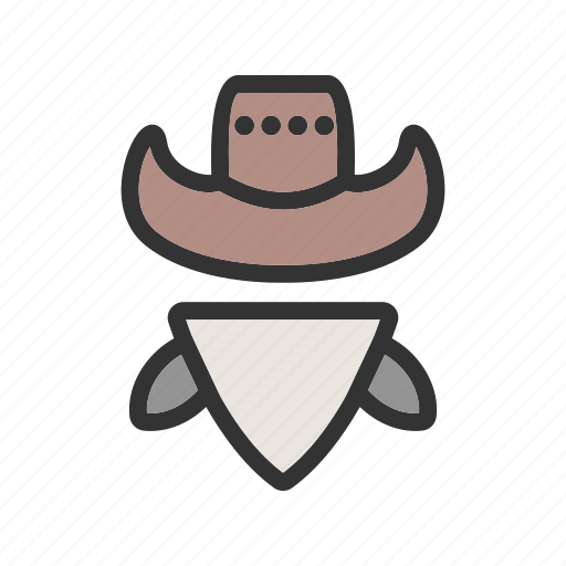 bandit, burglar, cowboy, hat, thief, west, western icon