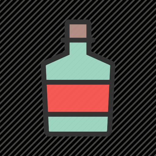 alcohol, bar, bottle, cowboy, drink, whiskey icon