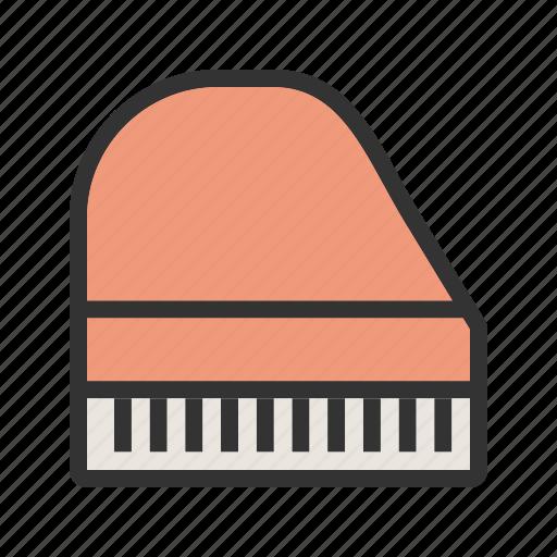 classic, instrument, key, keys, music, piano, play icon