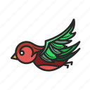 animal, animalpack, bird, fly, jungle, logo, wildlife icon