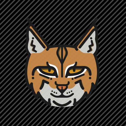 animal, animalpack, bobcat, cat, earth, planet, wildlife icon