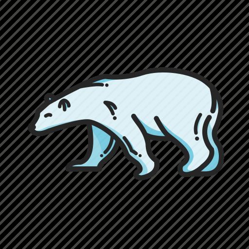 animalpack arctic bear logo north polarbear winter icon