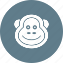 animal, animals, chimpanzee, monkey, safari, wild, wildlife icon