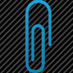 attach, attachement, attachment, clip, paper clip, paperclip icon