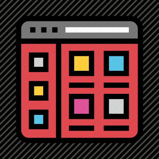 Browser, internet, online, webpage, window icon - Download on Iconfinder