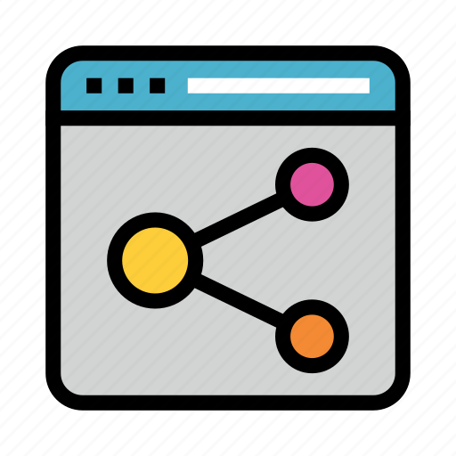 connect, internet, network, online, share icon