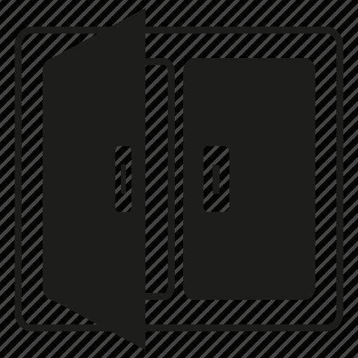 frame, open, window icon