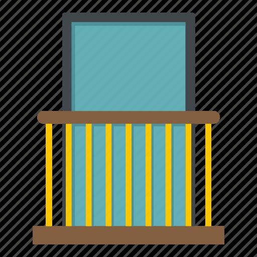 architecture, balcony, building, exterior, facade, outdoor, window icon