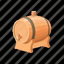 alcohol, barrel, beer, wine icon