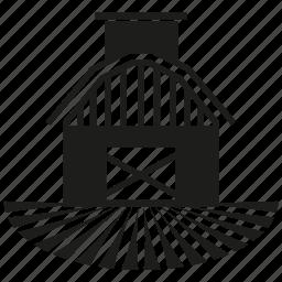 building, country, farm, farmhouse icon